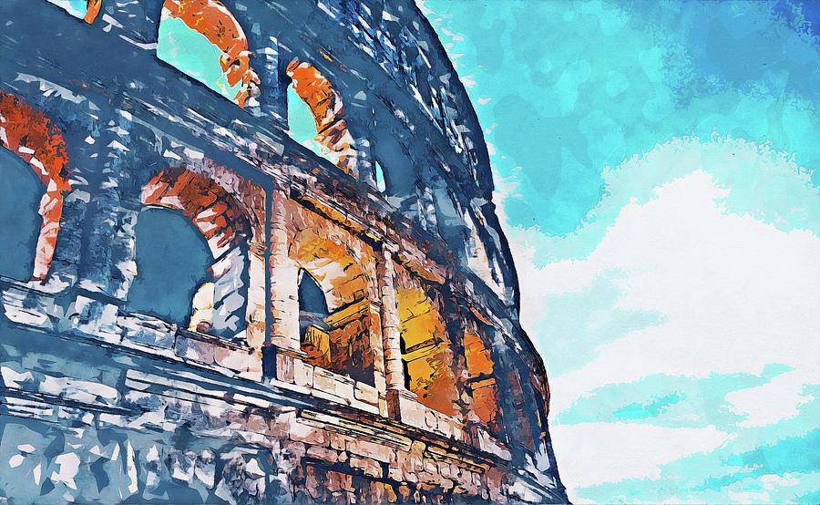 Colosseum, Rome - 16 by Andrea Mazzocchetti