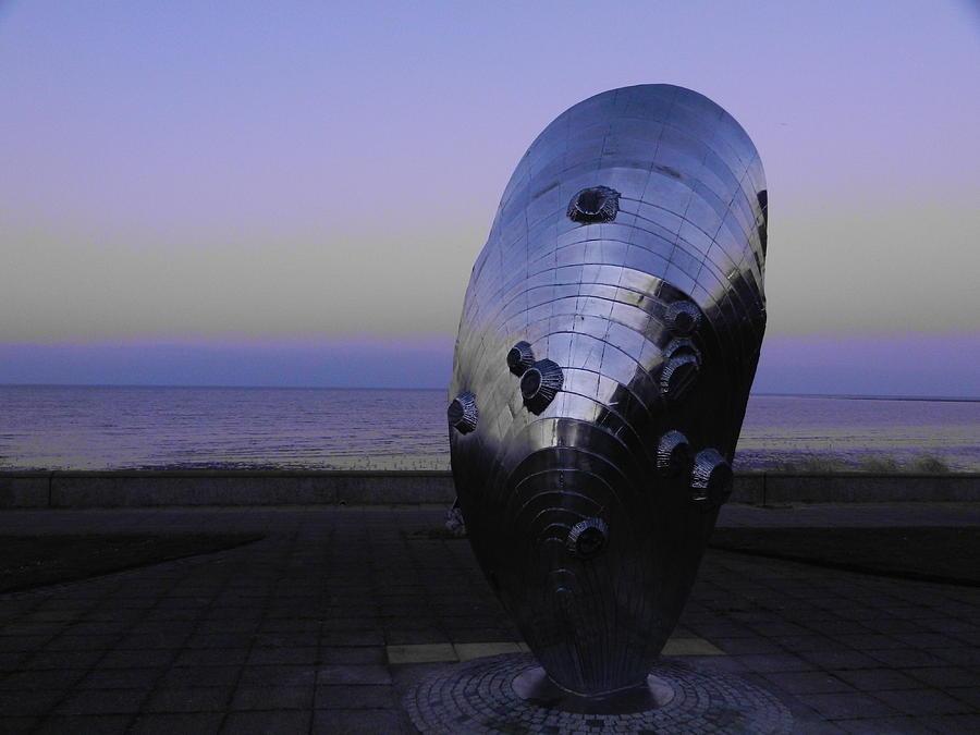 Nikon Photograph - Colour-popped Sculpture by Nik Watt
