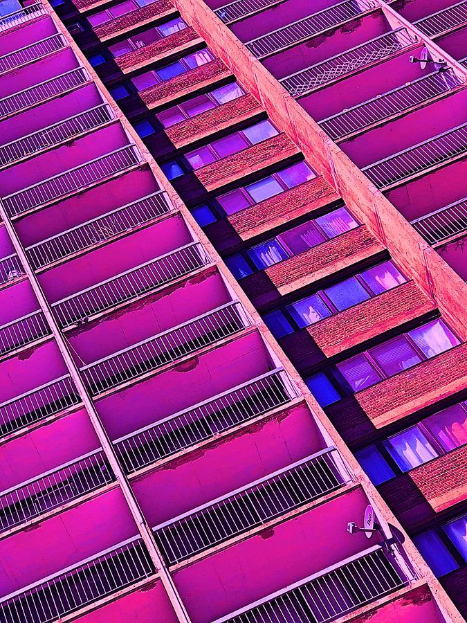 Coloured City by Mario MJ Perron