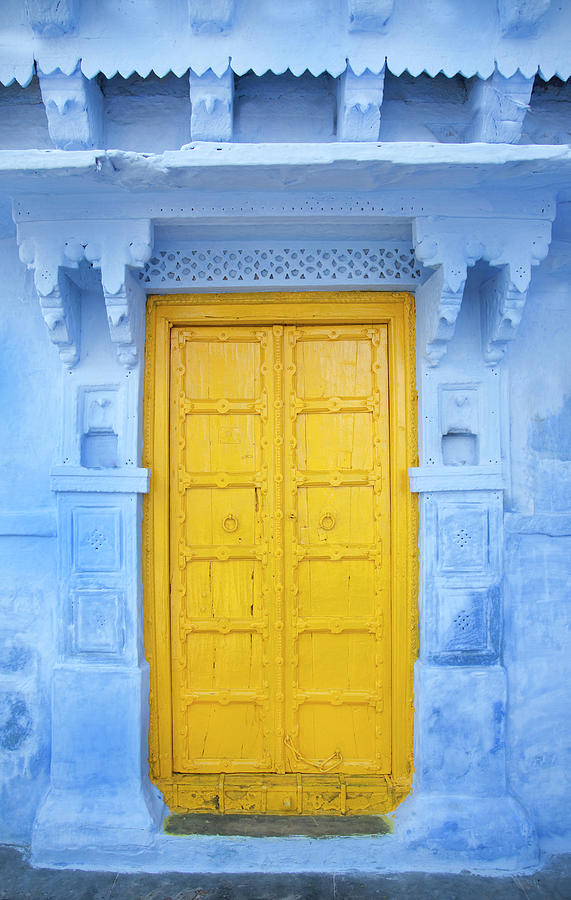 Opening Photograph - Colourful Door by Grant Faint