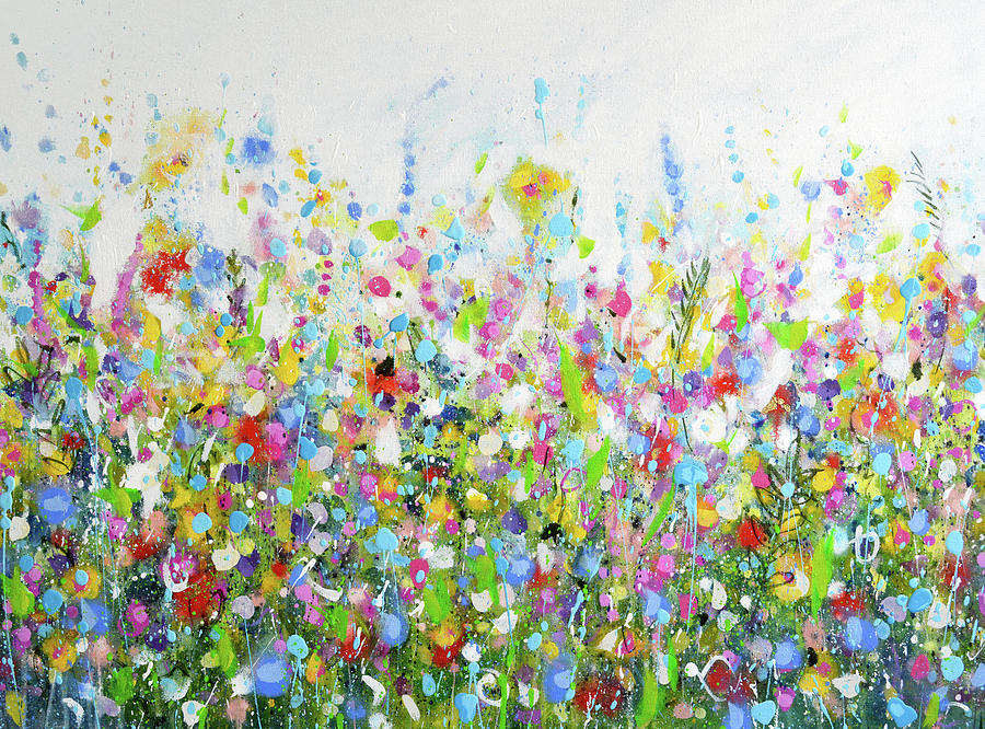 Colourful Meadow 40 by Tracy-Ann Marrison
