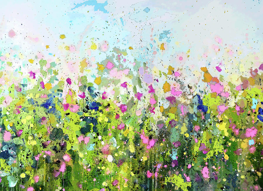 Colourful Meadow 41 by Tracy-Ann Marrison