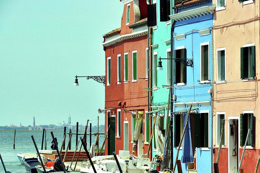 Colours Of Burano Photograph by Paul Biris