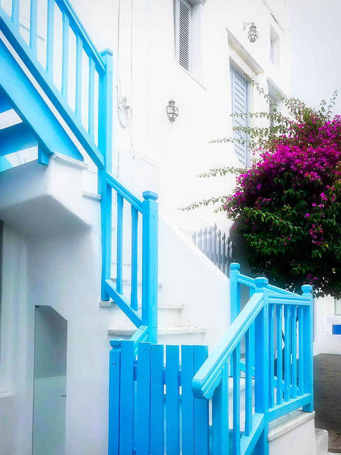 Colours of Mykonos by Nicholas V K