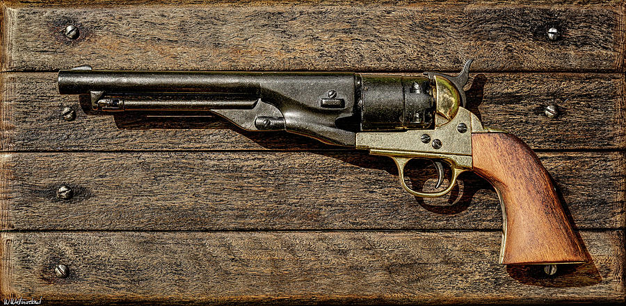 Colt Army 1860 by Weston Westmoreland