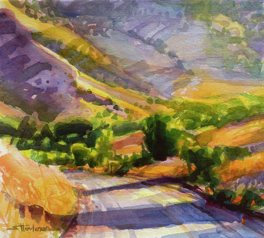 Columbia County Backroads Painting
