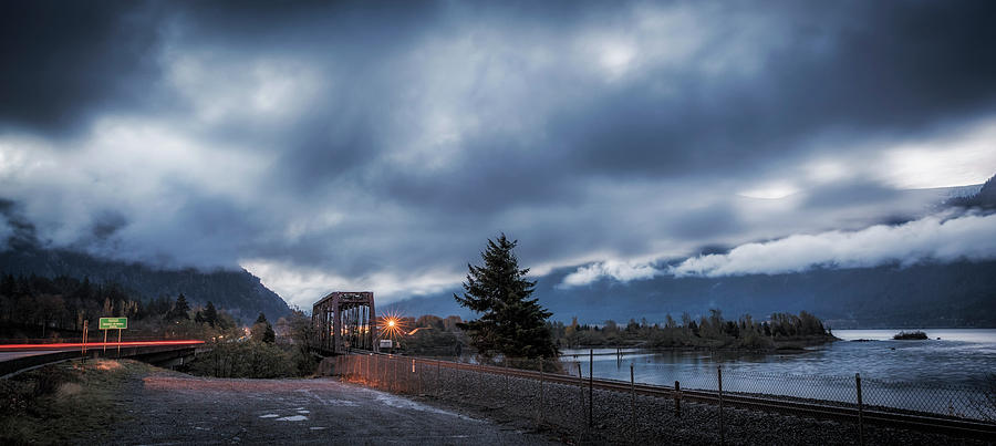 Columbia River Morning by Cat Connor