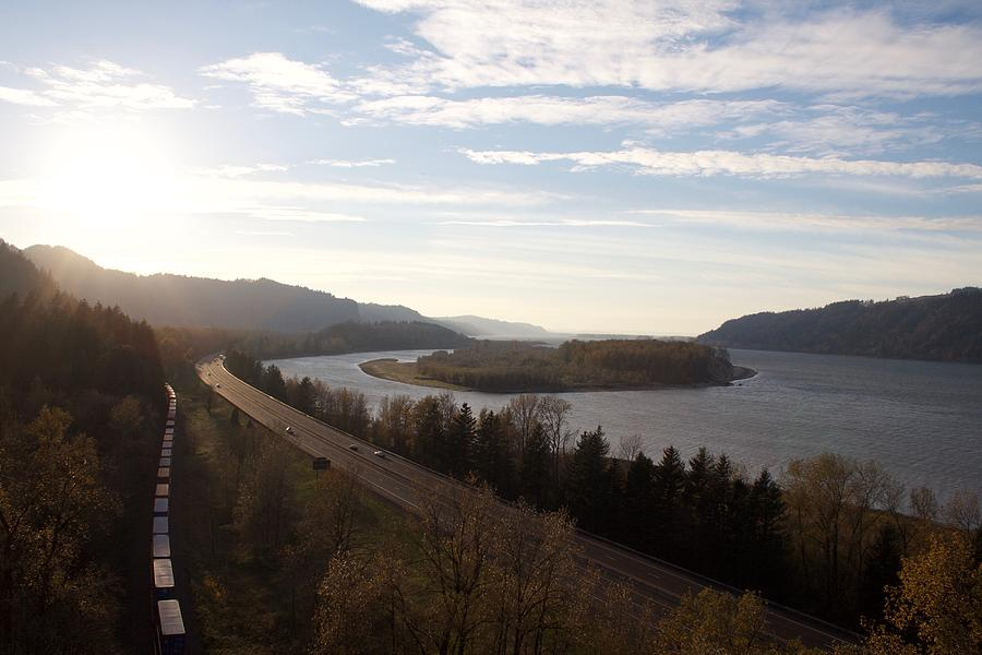 Columbia River Photograph - Columbia Ways by Dylan Punke