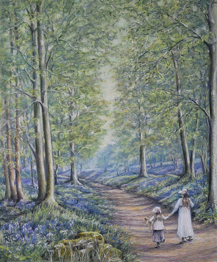Come Walk With Me Painting