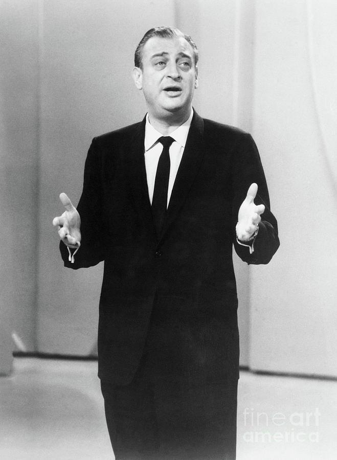 Comedian Rodney Dangerfield Performing Photograph by Bettmann