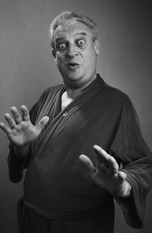 Comedian Rodney Dangerfield Portrait Photograph by George Rose