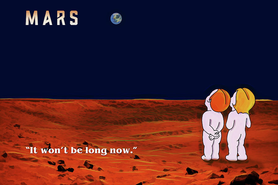 Coming to Mars by John Haldane