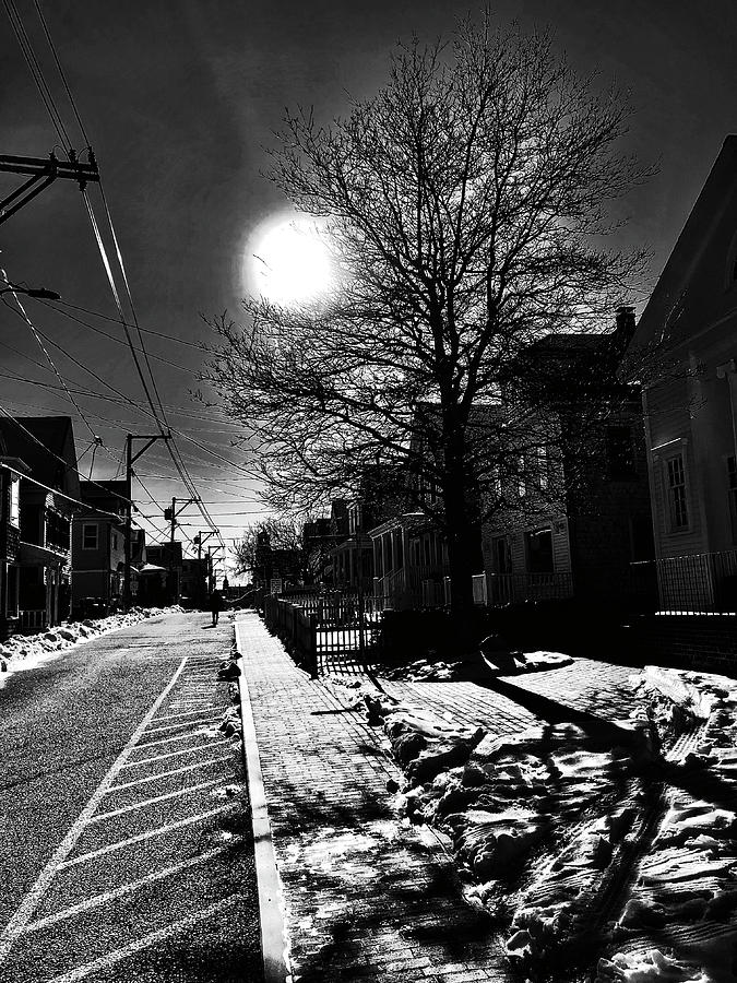 Commercial Street Shadows by Frank Winters