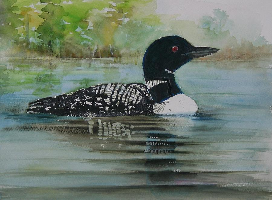 Common Loon by Patricia Ricci