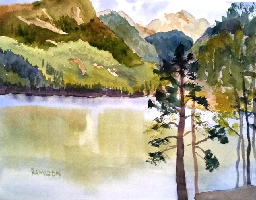 Como Lake by Larry Hamilton