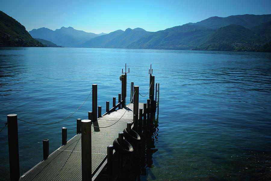 Como Lake Photograph by Meng Yiren