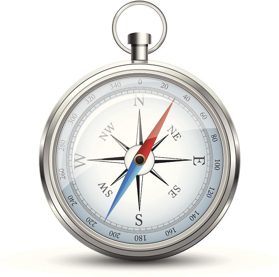 Compass Digital Art by Booka1