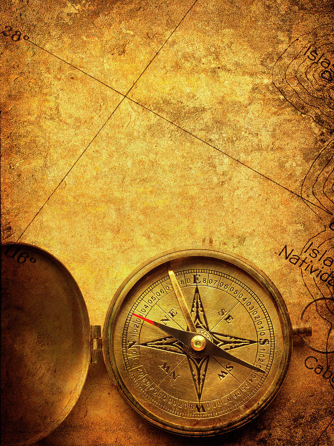 Compass Photograph by Dny59