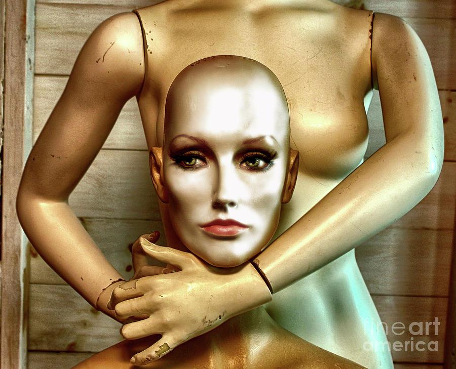 Mannequin Photograph - Complex Emotion by Steven Digman