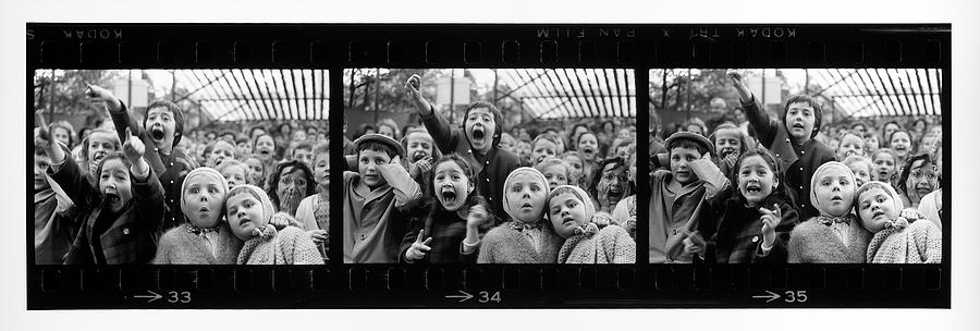 Composite Of Frames 33 34 & 35 Of Photograph by Alfred Eisenstaedt