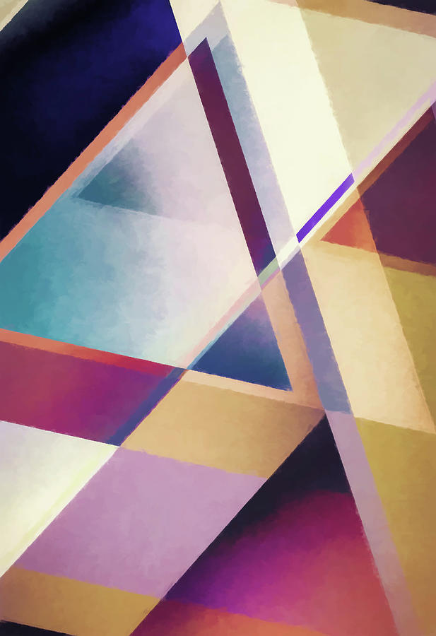 Composition des Pyramides by Jon Woodhams
