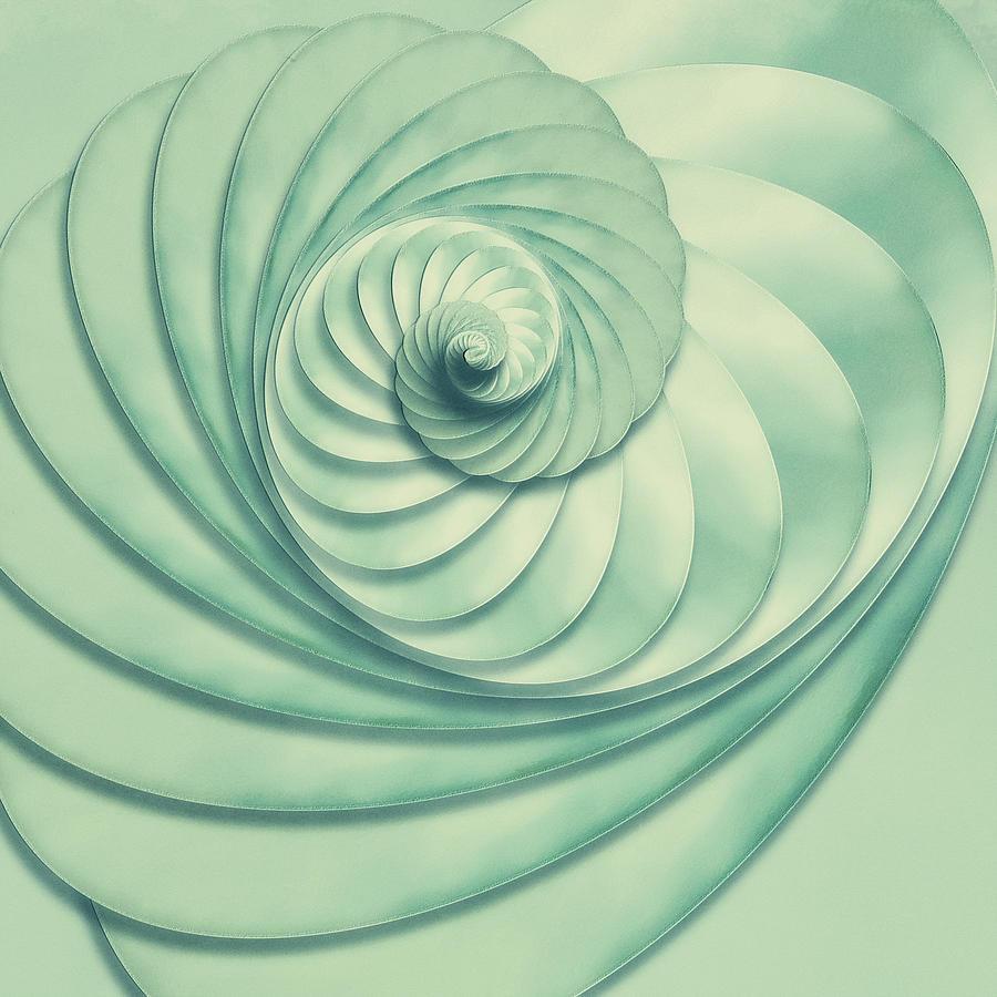 Composition in Celadon by Jon Woodhams