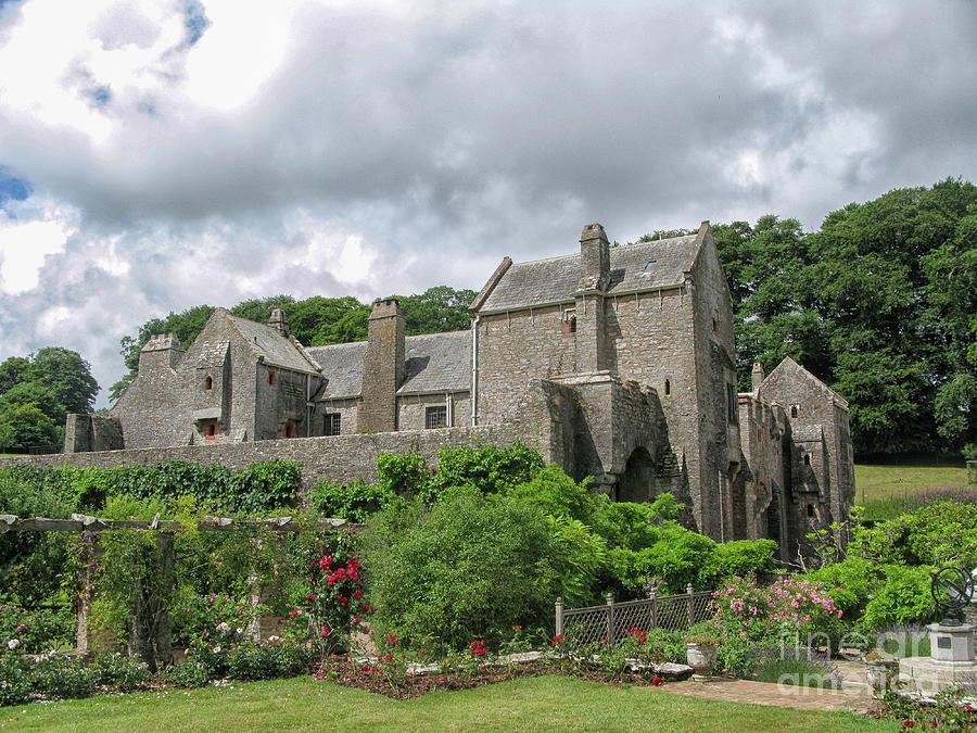 Compton Castle In Devon Photograph