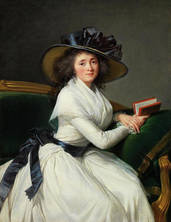 Comtesse de la Chatre -Marie Charlotte Louise Perrette Aglae Bontemps, 1762-1848-. by Elisabeth Louise Vigee Le Brun