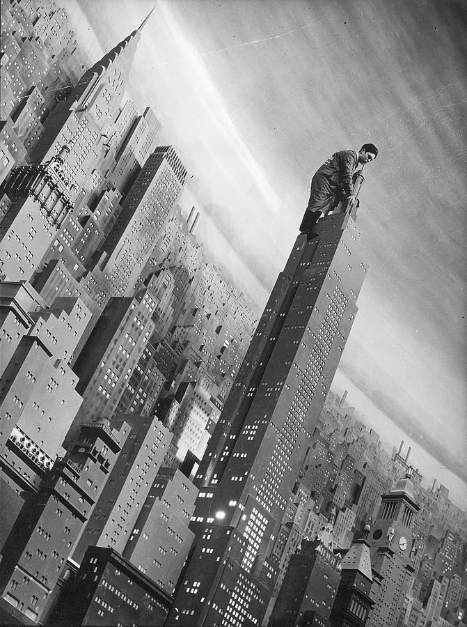 Con Ed City Of Lights Exhibit Photograph by Margaret Bourke-white
