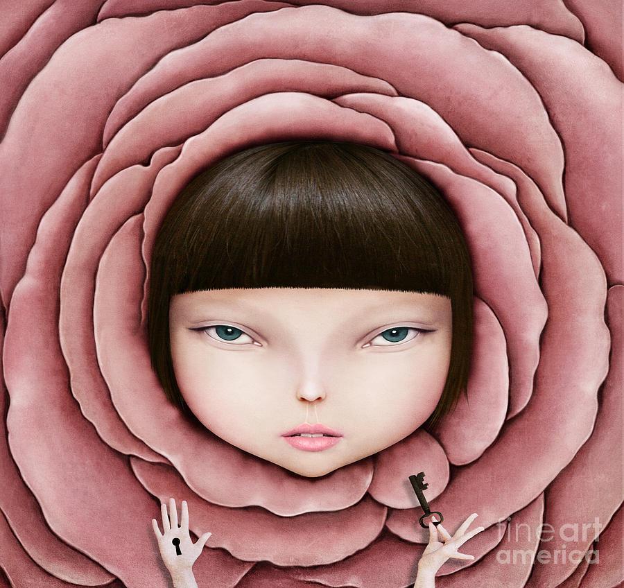 Magic Digital Art - Conceptual Illustration Or Poster With by Larissa Kulik