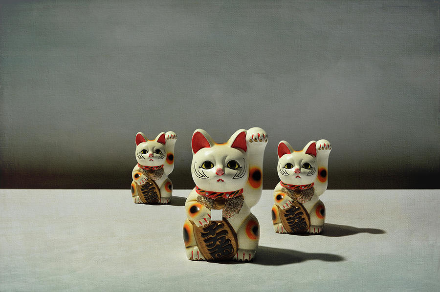 Conceptual Image  Beckoning Cat Photograph by Yagi Studio