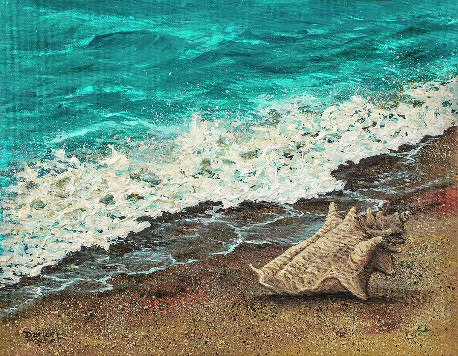 Conch Shell by Darice Machel McGuire