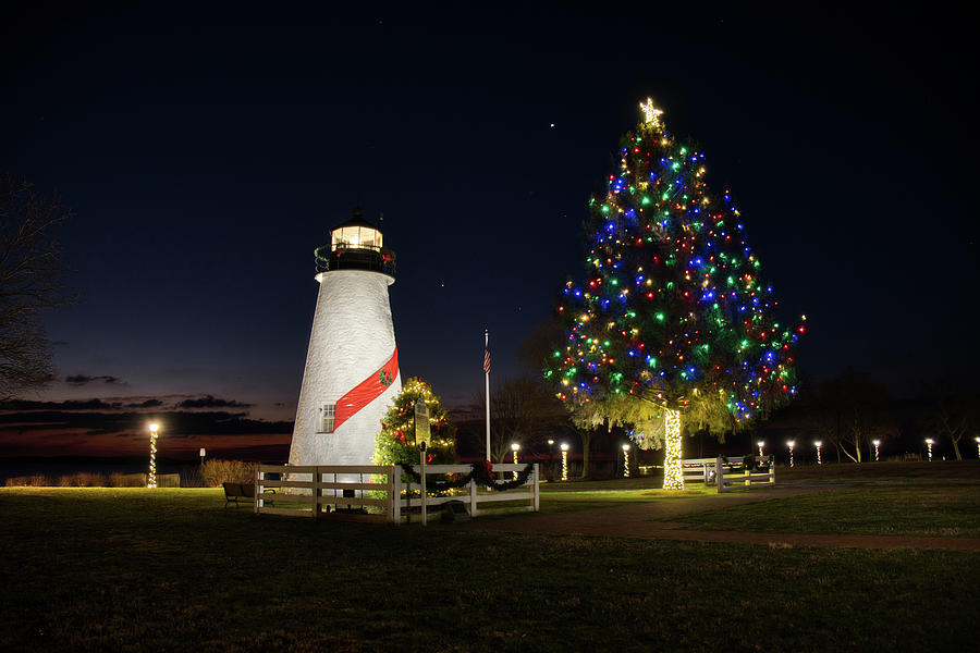 Concord Point at Christmas by Mark Dodd