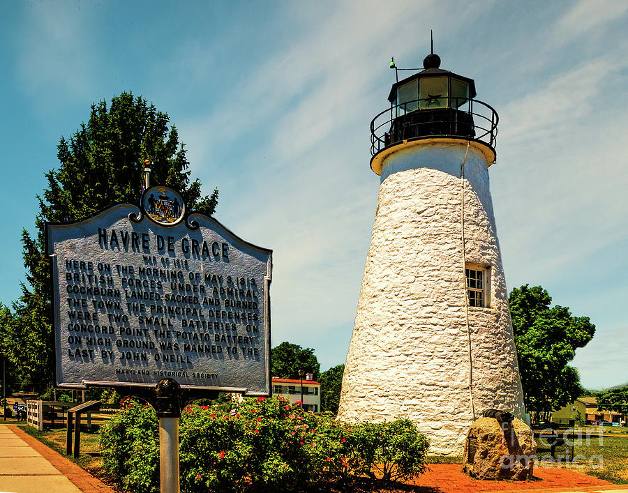 Concord Point Light in Maryland by Nick Zelinsky