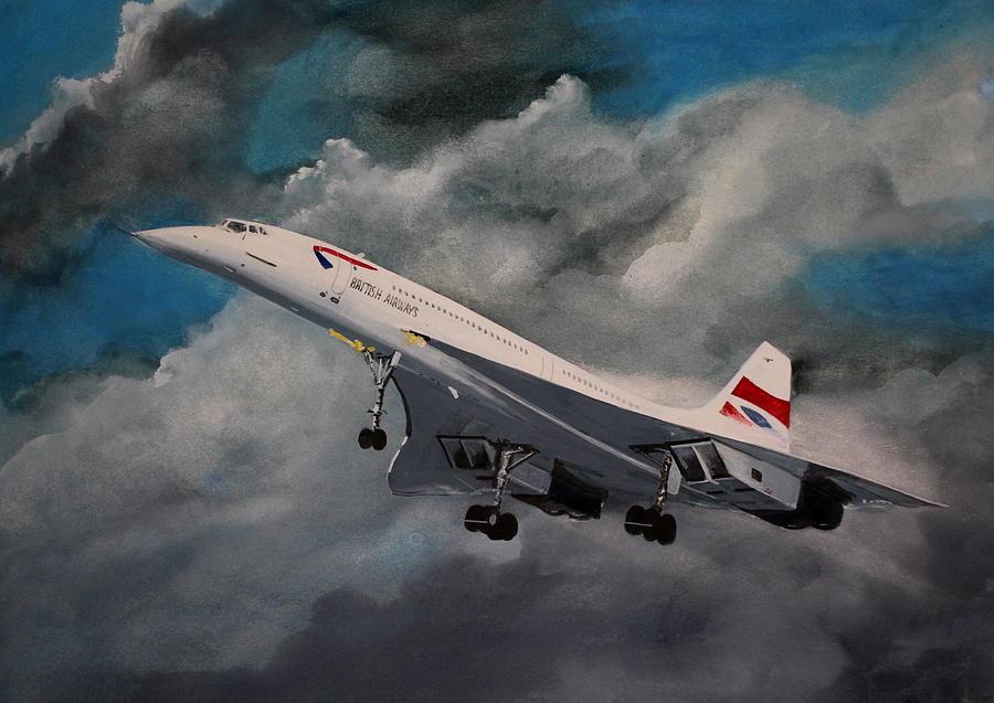 Concorde by Steve Jones