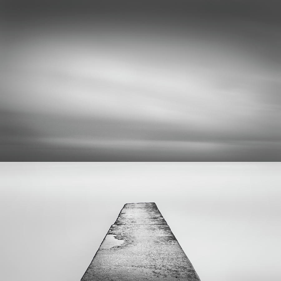 Concrete Jetty Photograph by Paul Simon Wheeler Photography