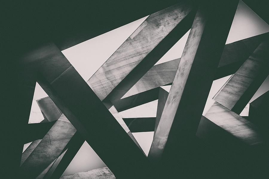 Concrete Pillars Photograph by Lordrunar