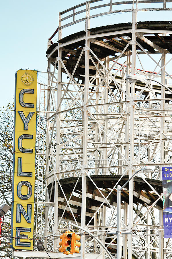 Coney Island Cyclone by Ann Murphy