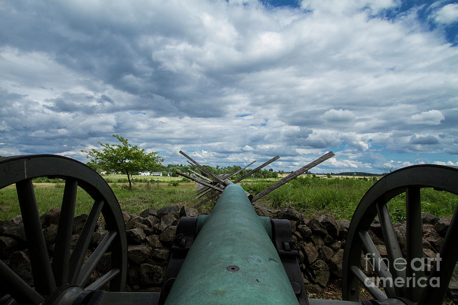 Confederate Canon by Photography by Laura Lee