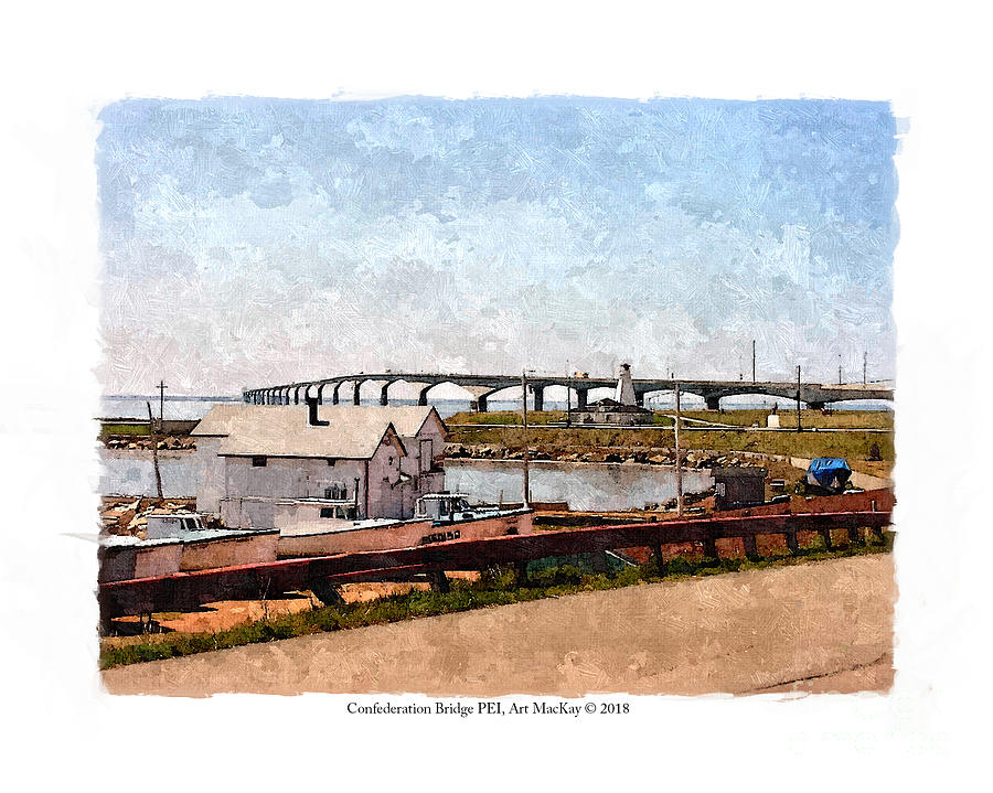 Confederation Bridge PEI 1 by Art MacKay