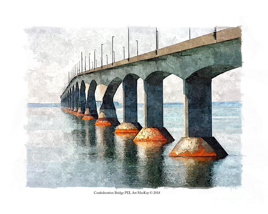Confederation Bridge, PEI 2 by Art MacKay
