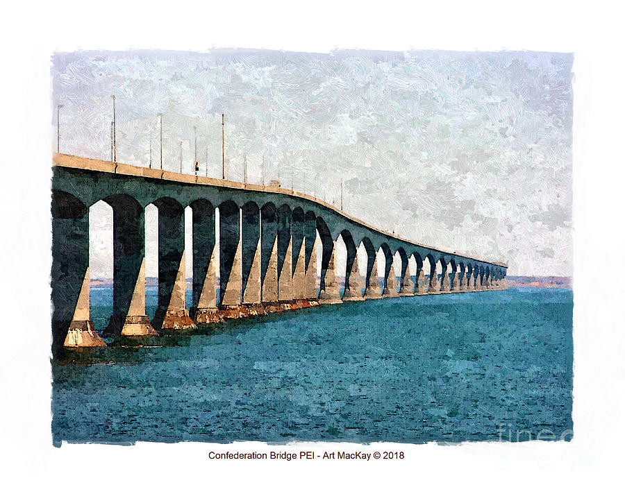 Confederation Bridge, PEI 3 by Art MacKay