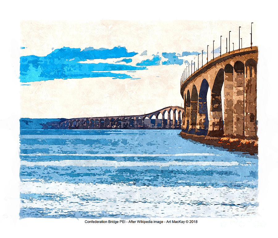 Confederation Bridge, PEI 5 by Art MacKay
