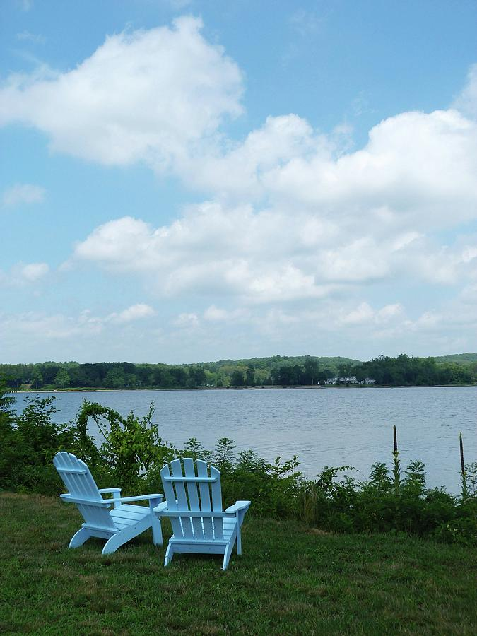 Connecticut River at Chester 3 by Toni Leland