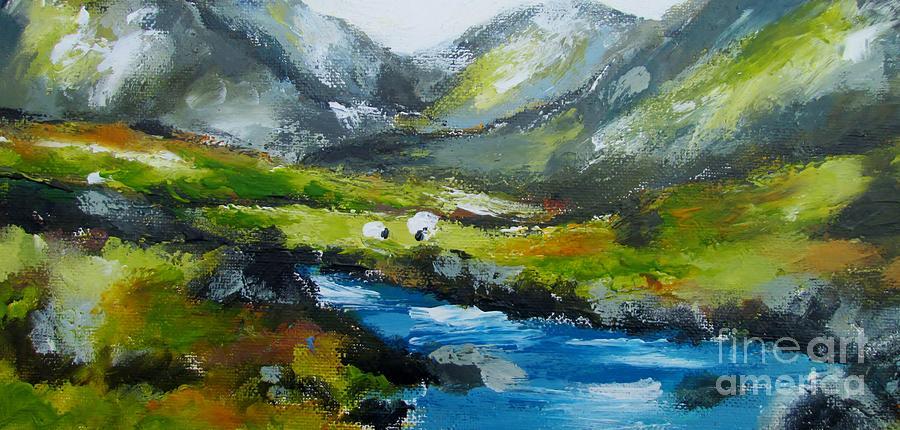 connemara landscape  by Mary Cahalan Lee- aka PIXI