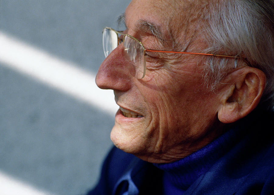 Conservationist Jacques Cousteau by Shaun Higson