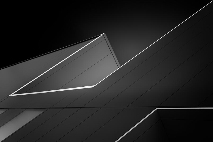 Architecture Photograph - Conspiracy Of Lines by Jeroen Van De Wiel