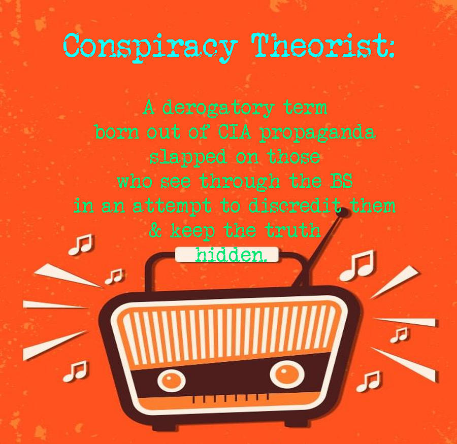Conspiracy Theorist by Love Infusion