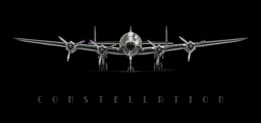 Lockheed Digital Art - Constellation by Hangar B Productions