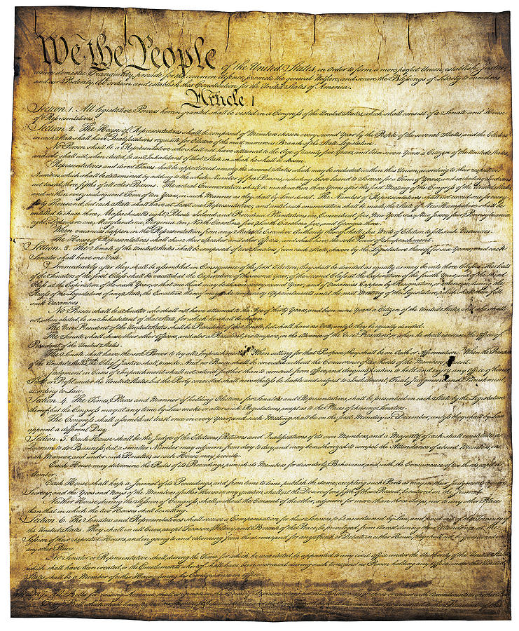 Constitution of the United States of America by Doc Braham